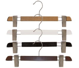 "Executive Line, Wooden Pant Hangers, 14"" - 12/CTN"