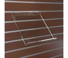 Slatwall Slope Shelf