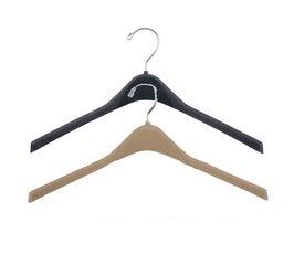 """Concave Sturdy Plastic Jacket Hanger, 17""""-18"""""""