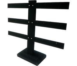 Economy Earring Display Tree, Black Velvet