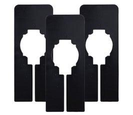 Plastic Size Dividers - Universal - Black BLANK