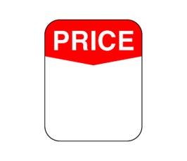 """Labels - Pressure Sensitive - """"Price"""""""