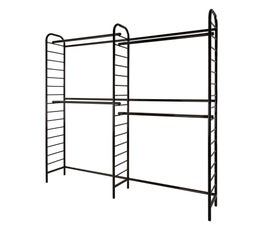 Double Two-Tier Wall Unit