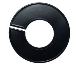 Plastic Size Divider w/Larger Cut Out – Round Black -  Individual - BLANK