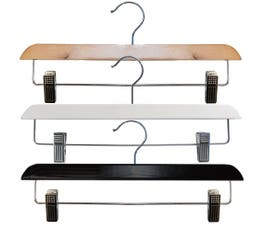 Contemporary Series Wooden Skirt/Pant Hanger