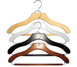 Contemporary Series Wooden Suit Hanger - 50/CTN