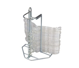 Metal Clothes Hanger Stacker For Shirts