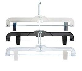 """Junior Size Plastic Coordinate Attachment Skirt/Pant Hangers - 12"""""""