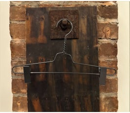 """Metal Pant Hangers - 14"""" Gunmetal"""