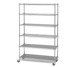 Heavy Duty Utility Rack with 6 Shelves