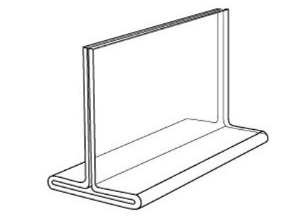 """Sign Holders - Countertop - 8 1/2""""H X 11""""W"""