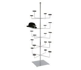 Stationery Millinery Tree-Chrome