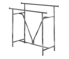 Garment Rack - Rectangular w/ V Brace