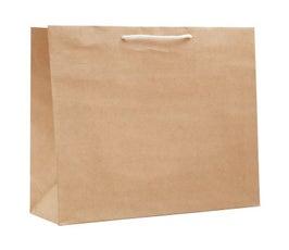 Paper Bags - Large Carnival Eurotote - Natural Kraft