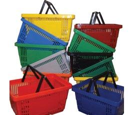 Shopping Basket - Large - 6 Gallon / 22 Liter Basket