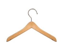 "Wooden Top Hangers - Mini - 6"" Natural finish"