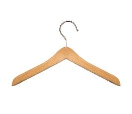 "Wooden Top Hangers - Mini - 8"" Natural finish"