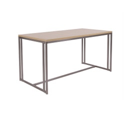 Boutique Collection Large Nesting Table, Satin Nickel