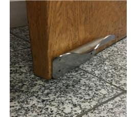 Foot Door Handle, Hands free door handle, Stainless Steel, 1 Pack