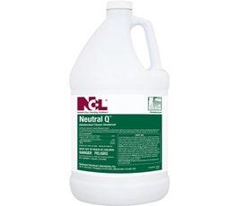 Neutral Q Disinfectant Cleaner, 1 Gallon, 4/CS