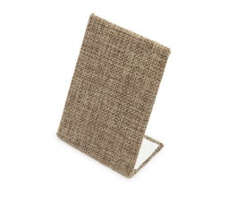 Earring and Pendant Display Stand, Burlap