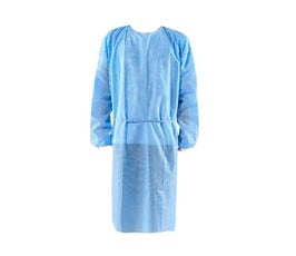 Disposable Cloth Gown for Personal Protection, Non-Medical - Blue