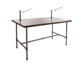 Pipeline Nesting Table Topper - Frame Only- Anthracite Grey