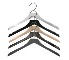 """17"""" Northshire Wooden Jacket Hanger"""