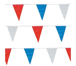 Red, White and Blue Pennants, Extra-Large