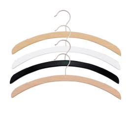 Retro Series Wooden Shirt Hanger