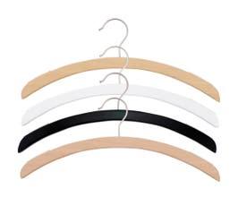 Retro Series Wooden Shirt Hanger - 25/CTN
