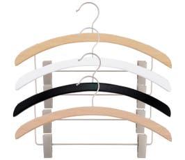 Retro Series Wooden Suit Hanger - 25/CTN