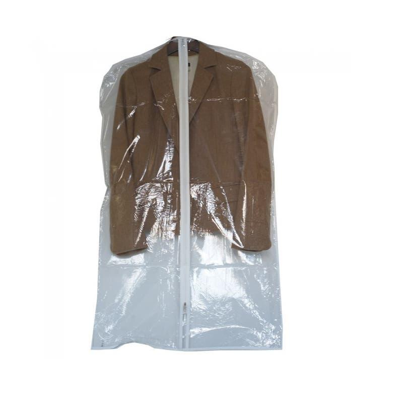 """Garment Bag - 40"""" Suit Length - Clear"""