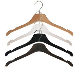 Equinox Wooden Shirt Hanger, 17""