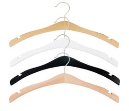 Signature Wooden Shirt Hanger, 16 3/4""