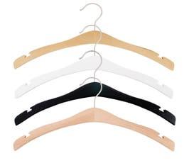 """Signature Wooden Shirt Hanger, 16 3/4"""" - 25/CTN"""