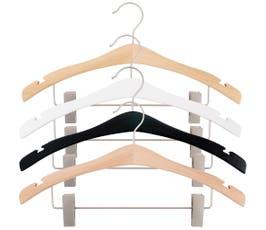 "Signature Wooden Suit Hanger, 16 3/4"" - 25/CTN"