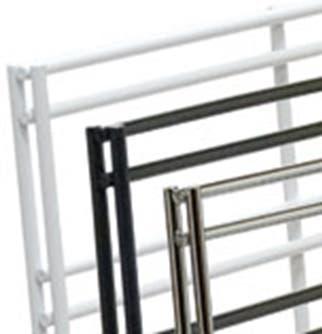 Slatgrid Panels - 2' x 6' Chrome