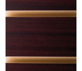 slatwall - mahogany