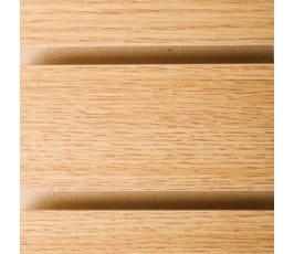 slatwall - oak
