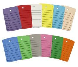 Unstrung Perforated Coupon Price Tags, Small