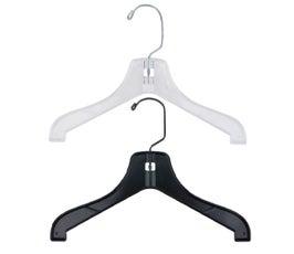 """Children's Super Heavy Weight Plastic Jacket Hanger - 12"""""""