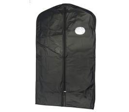 "Garment Bag w/ Oval Window, 40"" Suit Length - Black"