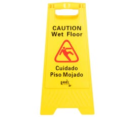 Wet Floor Sign - Yellow