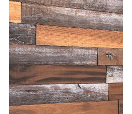 Smart Wall Paneling, Antique Mixed Wood Planks
