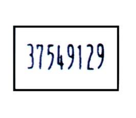 Labels - Dennison 09225 - White