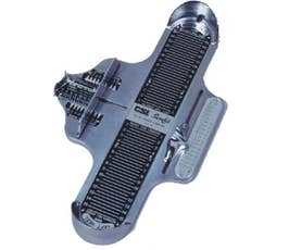 Foot Measuring Device - Athletic - Chrome