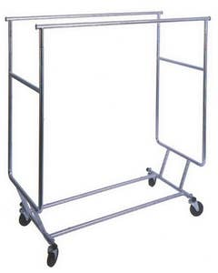 Rolling Rack - Collapsible - Heavy Duty