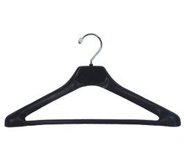 "Plastic Suit Hangers - Conacave Extra Wide-Shouldered - 17"" Black"