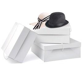 Millinery Boxes - Medium - White